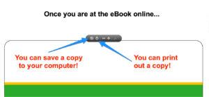 ebook save or print